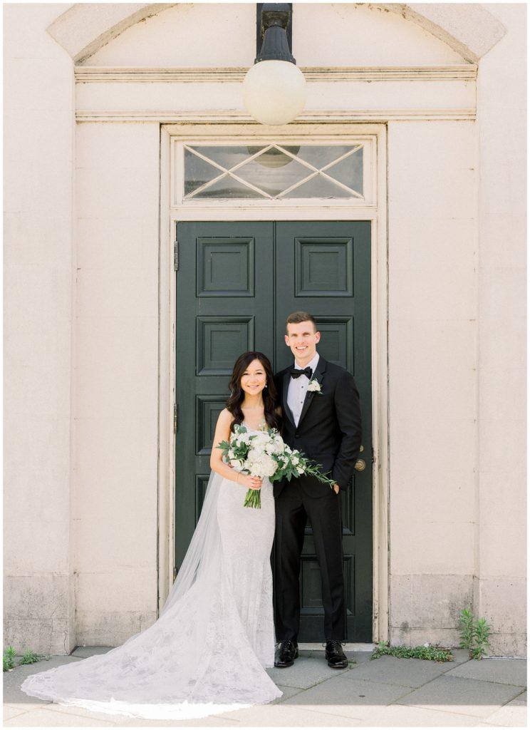 Philadelphia Water Works by Cescaphe Wedding   Caroline Morris Photography