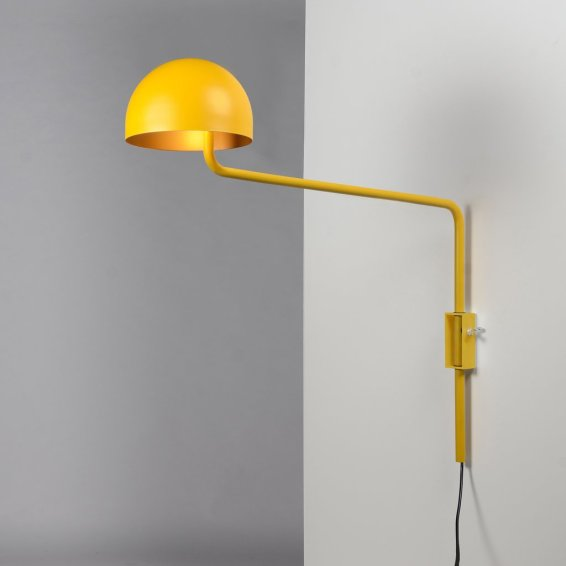 Long armed Officer wall yellow:gold