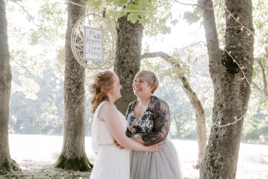 Outdoor Tipi wedding with celebrant