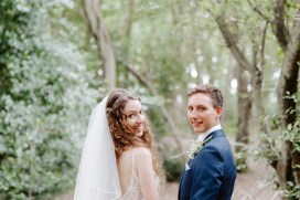 Bohemian and outdoor wedding near london