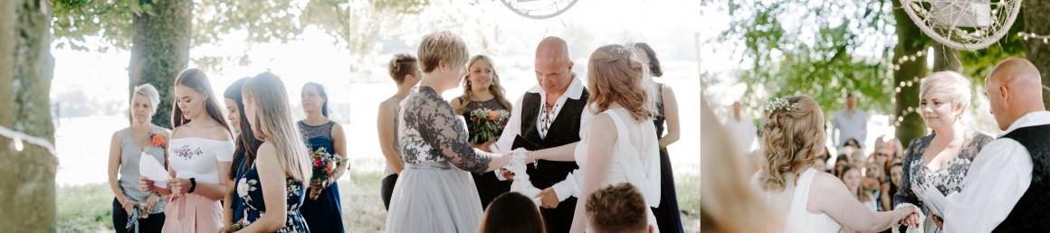Outdoor Wedding Ceremony in Hampshire