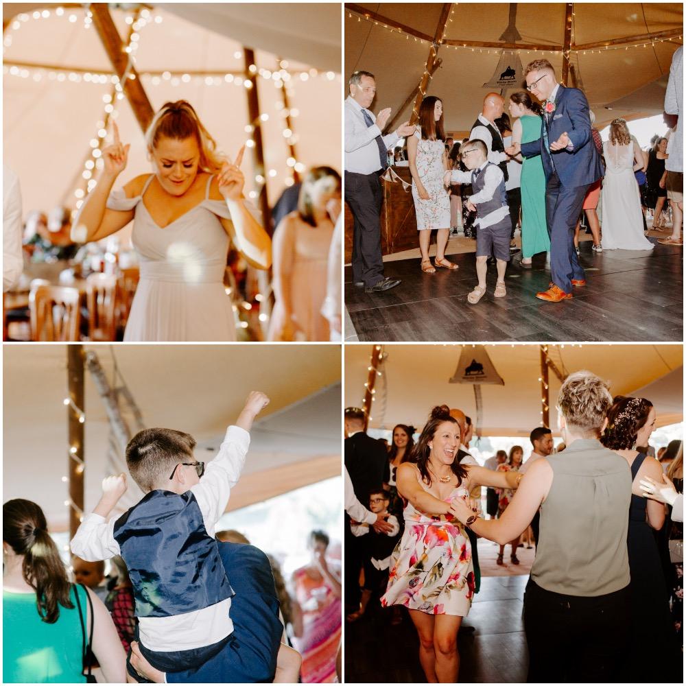 Fun wedding photography in Hampshire