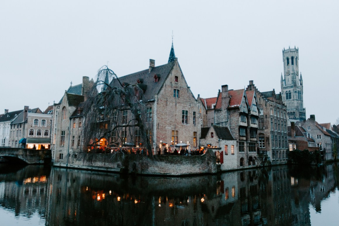 A winter's day in Bruges