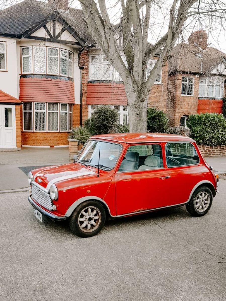 A 1988 classic Mini Mayfair