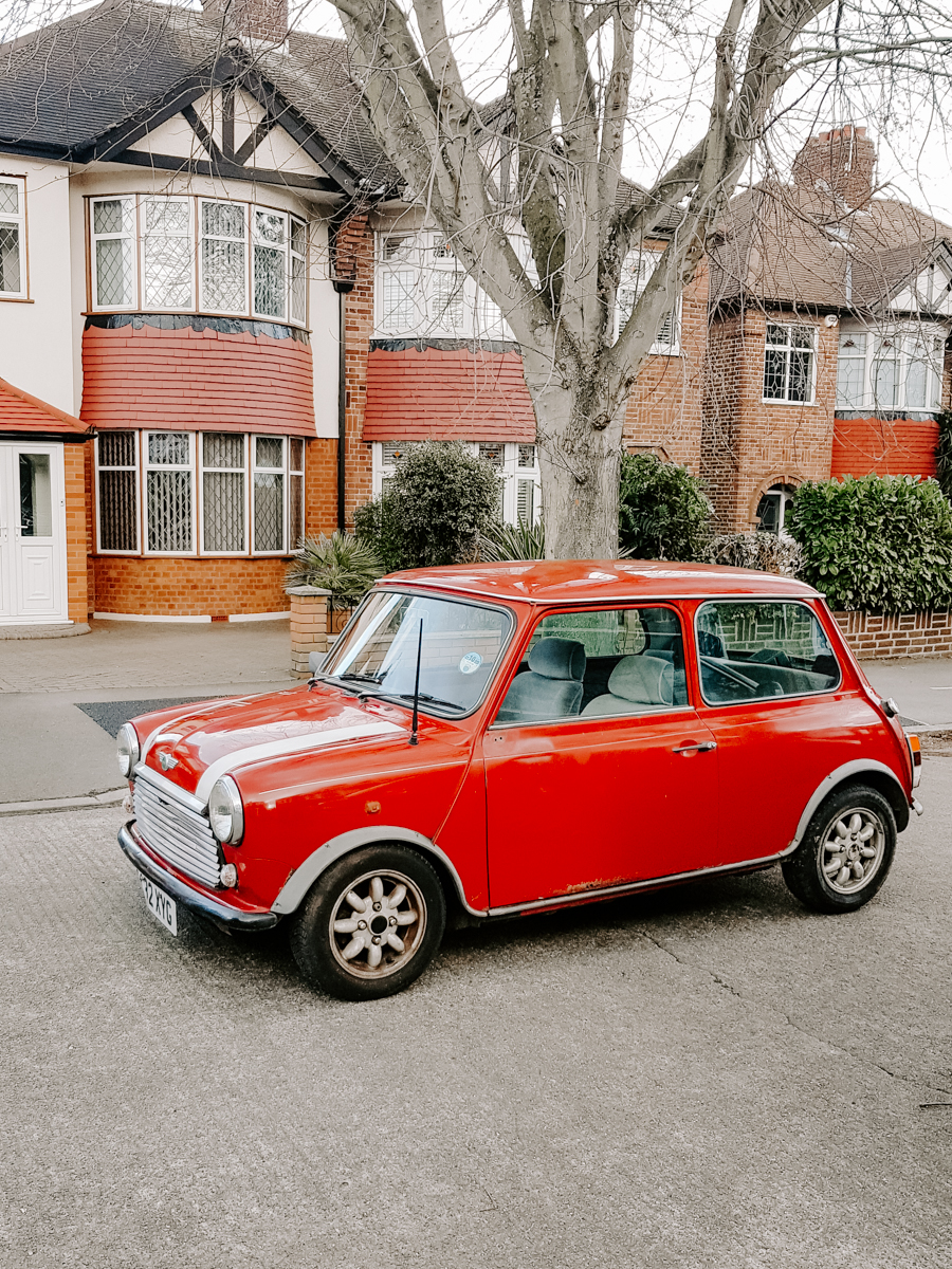 A 1988 classic Mini Mayfair