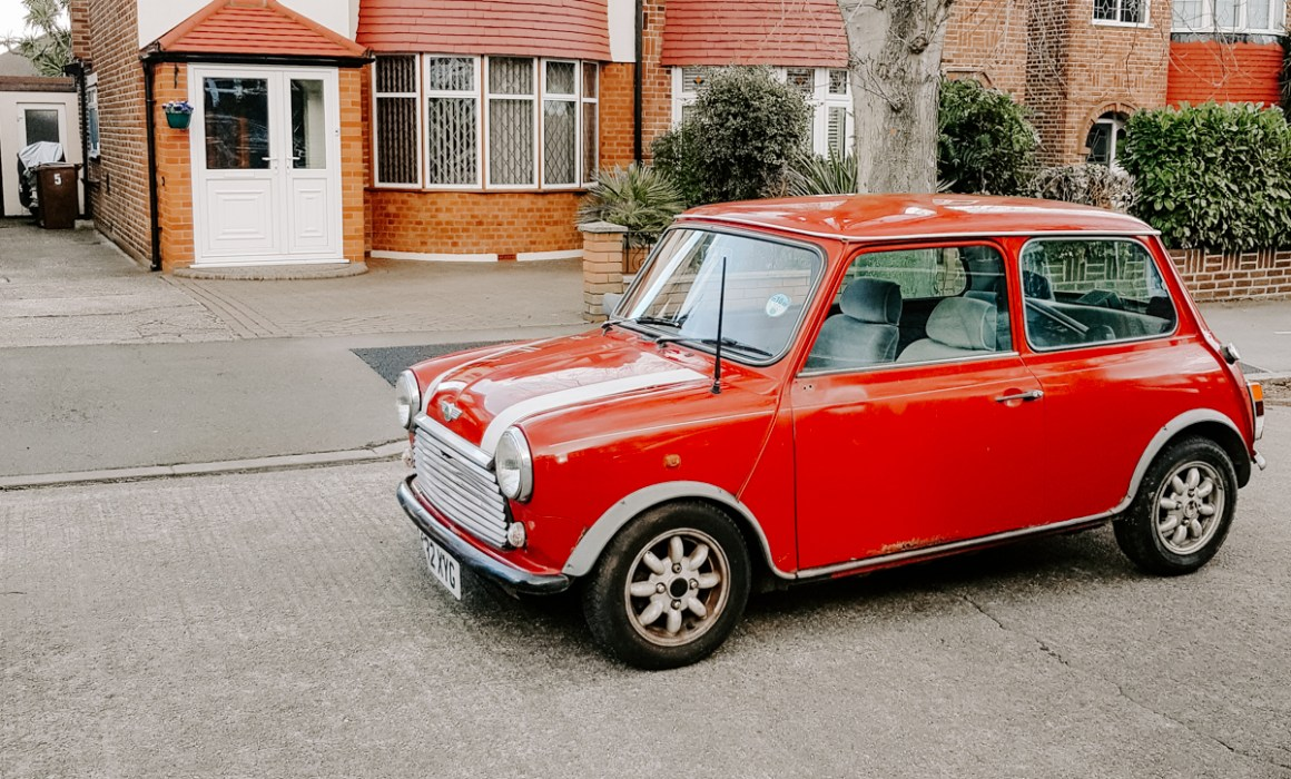 A classic Mini mayfair