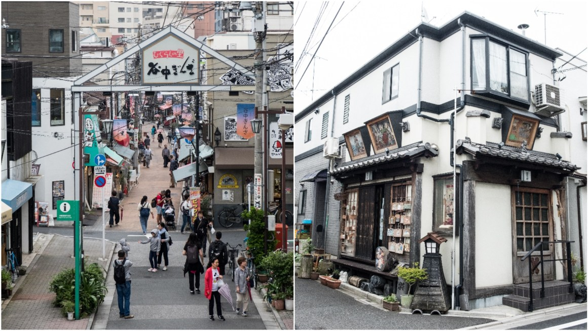 Tourist guide to Yanaka in Tokyo
