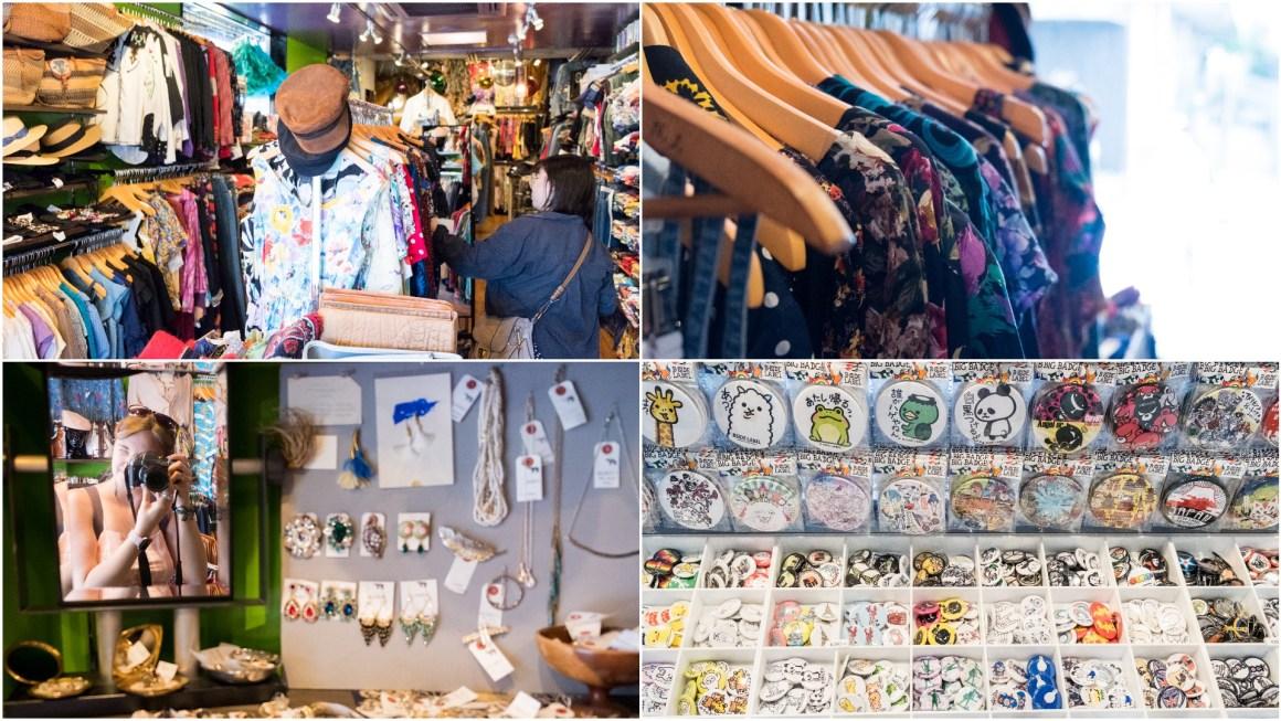 Vintage shopping in Shimokita in Tokyo