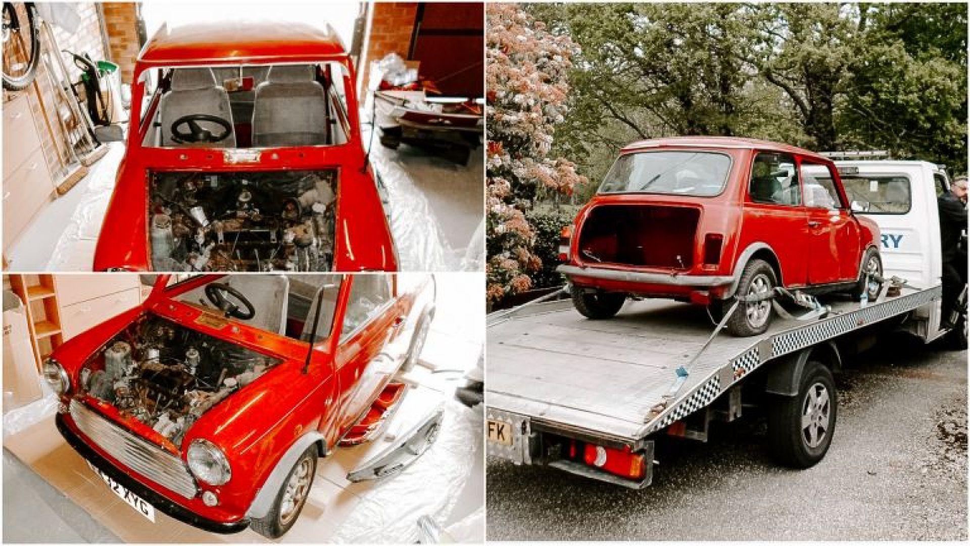 Classic 1988 Mini restoration