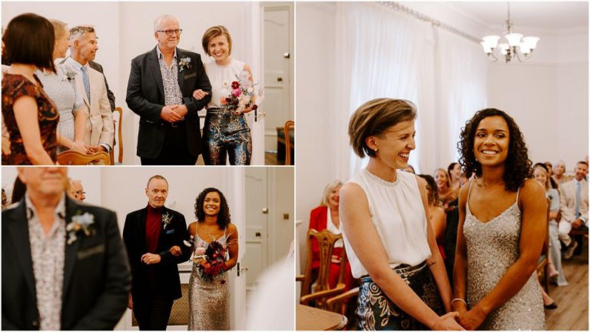 Woolwich Town Hall lesbian wedding