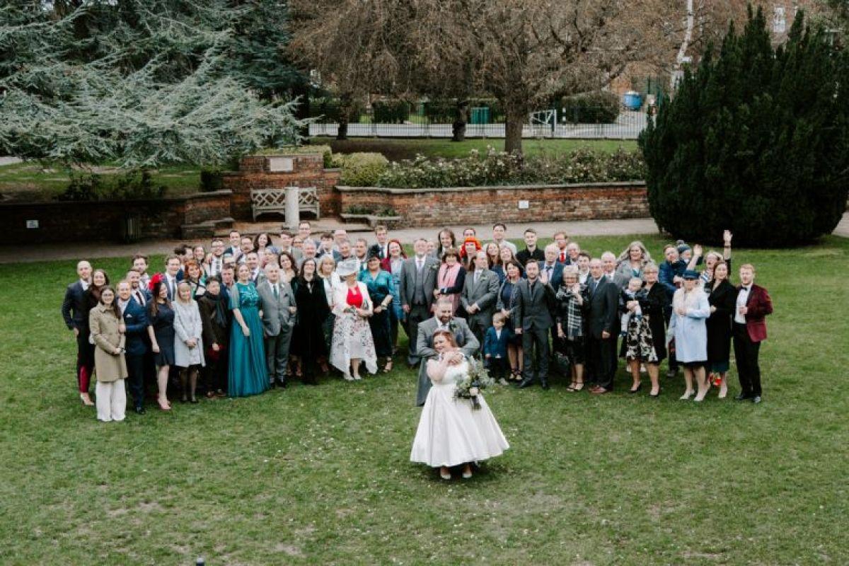 Barn wedding in London