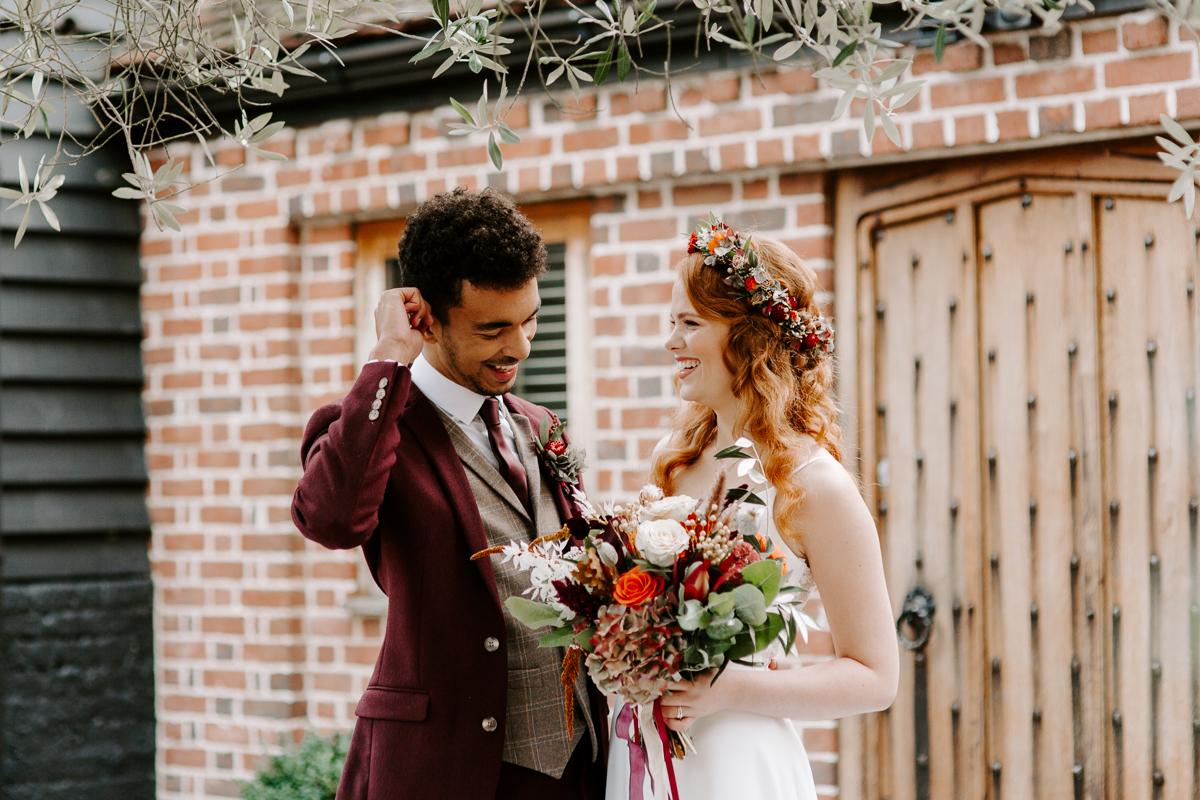 Barn wedding venues in Hertfordshire