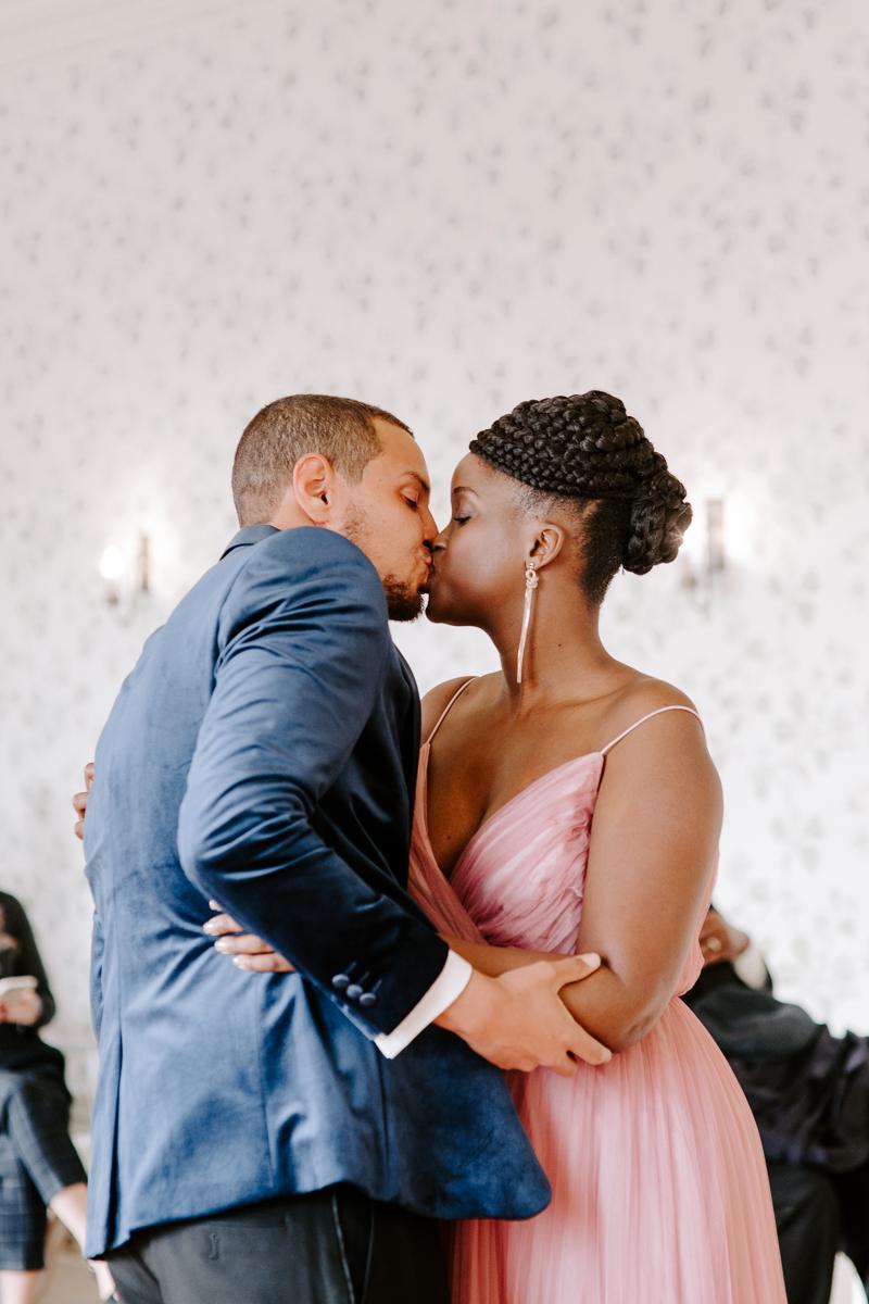 First kiss at Valentines Mansion Redbridge