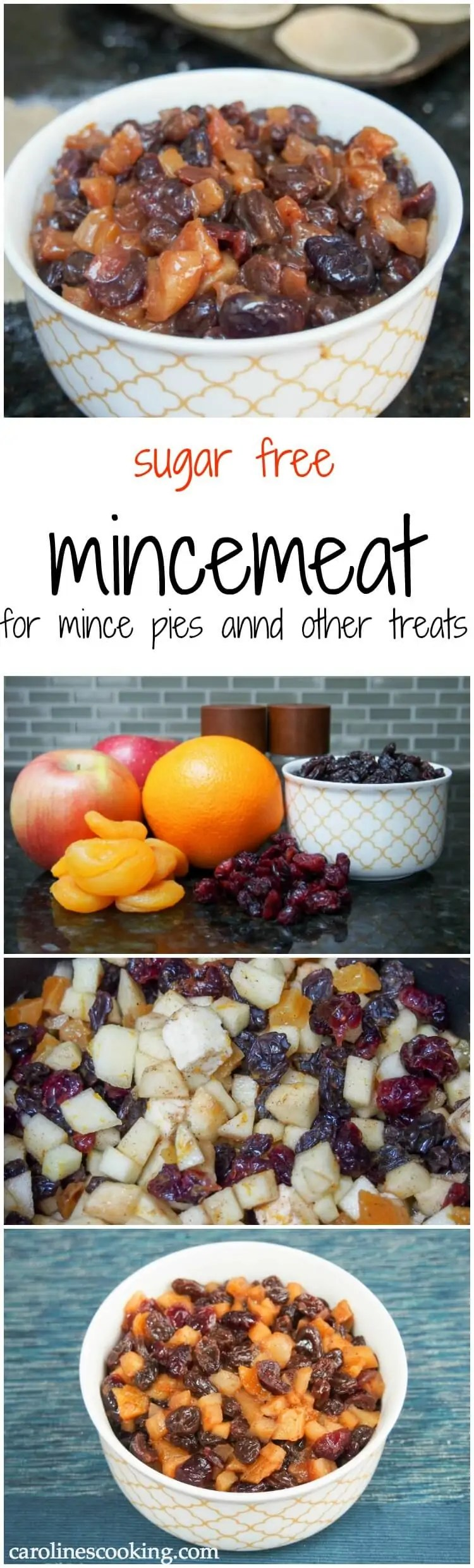 Based on traditional British Christmas recipes, this mincemeat is both healthy and lighter than your typical recipe with no refined sugar but plenty of delicious fruit and spice flavor. Great as a pie filing or in baked goods, easy too.