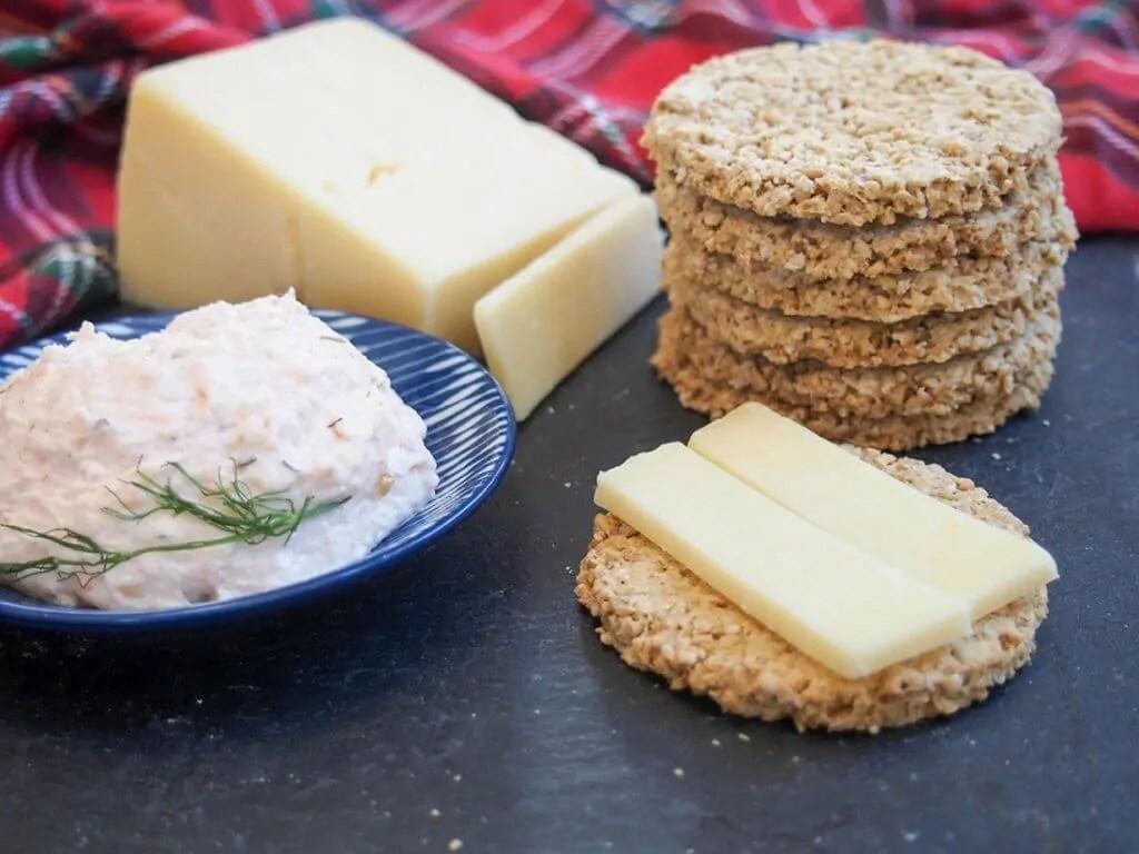 oatcakes oat crackers