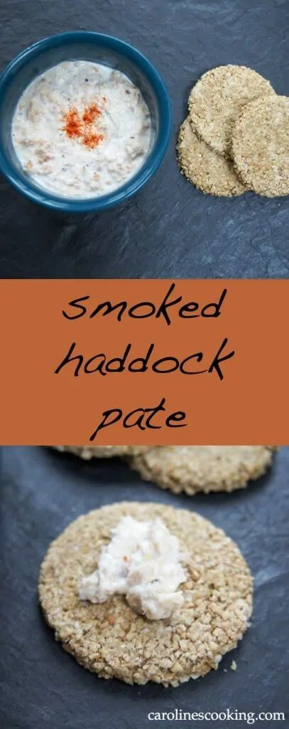This Scottish smoked haddock pate is incredibly easy to prepare, and delicious on top of toast, oatcakes for a light lunch or canapes. Great for Burns night.