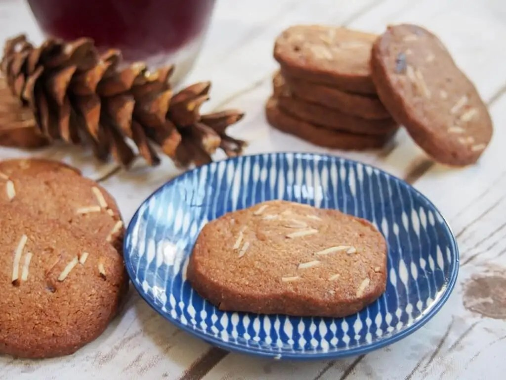 Brunkager - Danish Christmas cookies