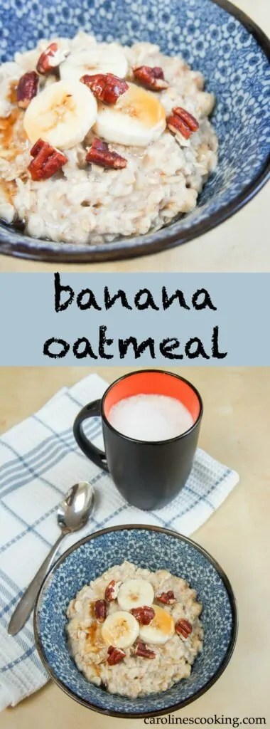 Banana oatmeal is incredibly easy to make and so delicious - naturally sweet and full of great energy, it's sure to be a breakfast favorite.