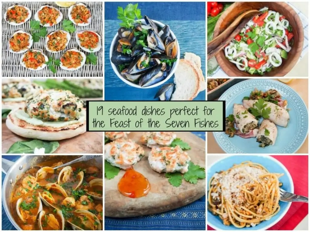 19 seafood dishes for the feast of the seven fishes
