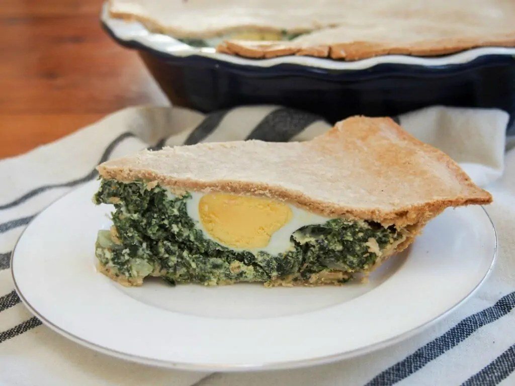 torta pascualina spinach ricotta pie