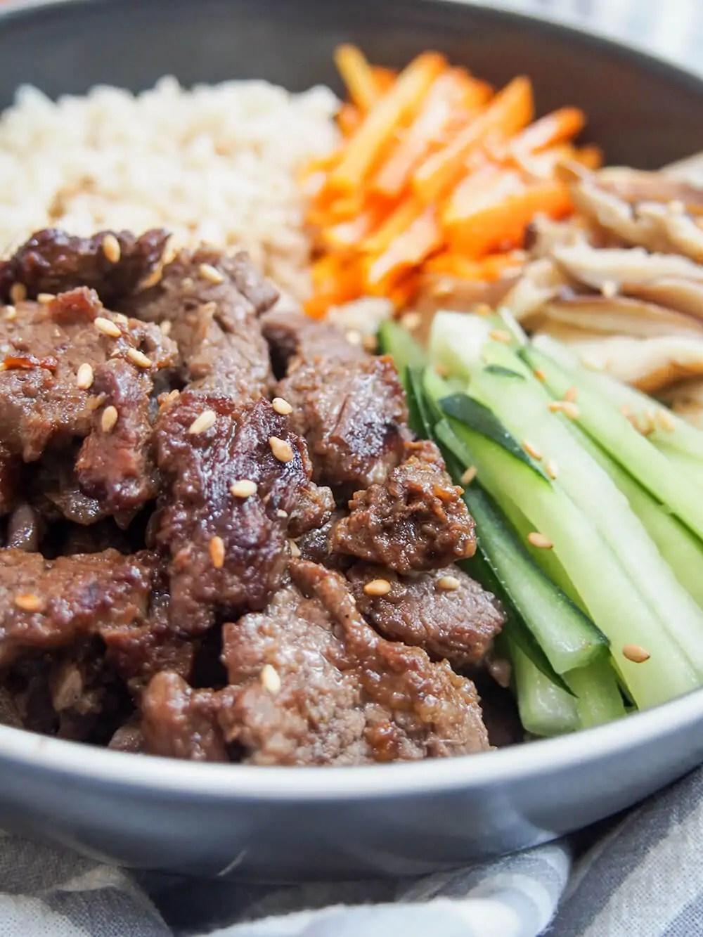 Beef bulgogi - Caroline's Cooking