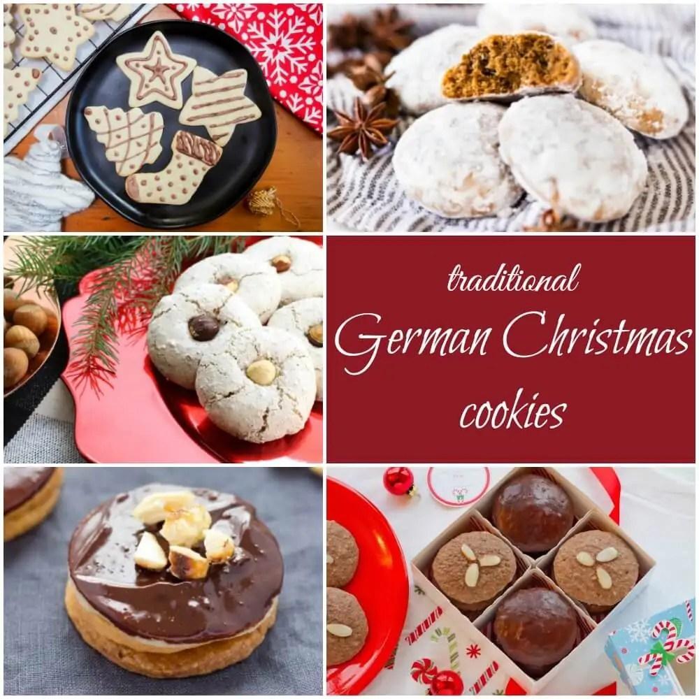 traditional German Christmas cookies