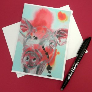 Blank Animal Greeting Cards