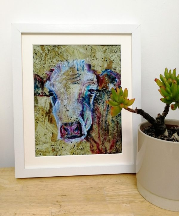Country cow wall decor