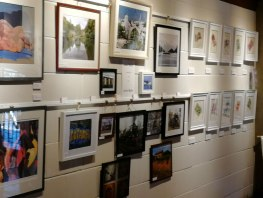 Denbies art exhibition, affordable art show, Surrey artists
