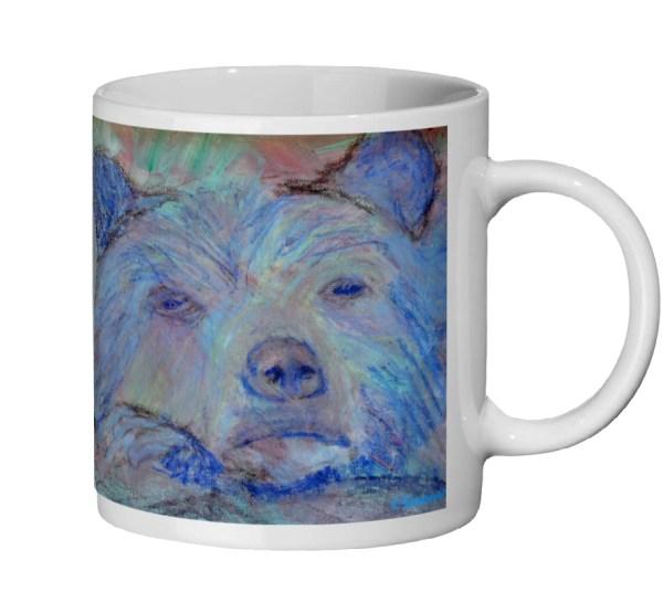 Blue Mug for bear lovers