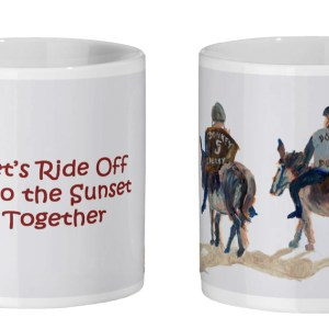 Mug for donkey lovers