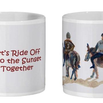 Mug for donkey lovers