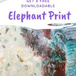 Free baby elephant print to download