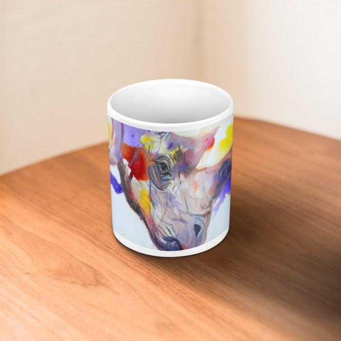 Purple Rhino Mug