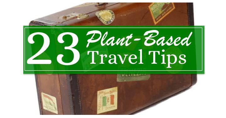 23 Plant Based Travel Tips