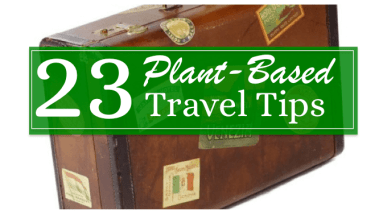 23 Plant Based Travel Tips