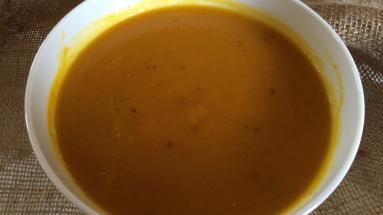 Carrot and pumpkin soup