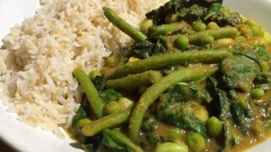 Vegetable Dhansak