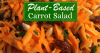 Plant Based Carrot Salad