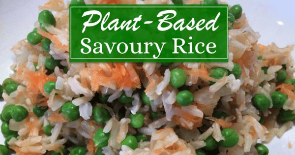 Plant Based Savoury Rice