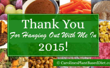 Thank You For Hanging Out With Me In 2015!