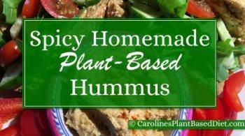 Spicy Homemade Hummus