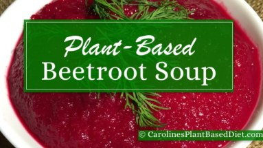 Plant-Based Beetroot Soup