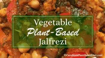 Plant-Based Vegetable Jalfrezi