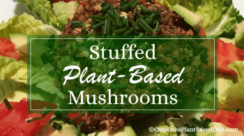 Plant-Based Stuffed Mushrooms