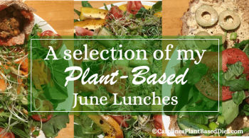June plant based lunches 2018
