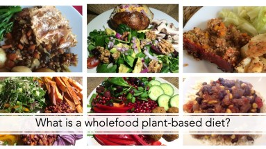 What is a whole food plant-based diet?