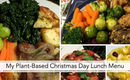 My Plant-Based Christmas Day Lunch Menu