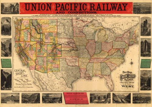 union pacific map Carole Dagg