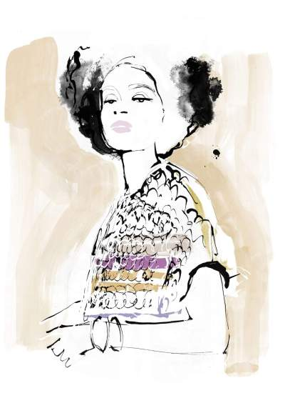 Fashion Illustration – Anthropologie UK SS2020